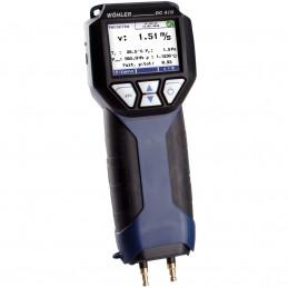 Wöhler DC 410 Micromanometro 9248
