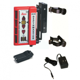 Leica MC200 Depthmaster Ricevitore Mov. Terra Staffe A Vite/Magnetiche 742701