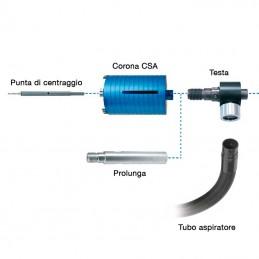 AGP Prolunga in alluminio cava attacco 1 1/4″ 300mm 335.786