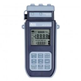 Delta Ohm HD2124.2 Manometro - Termometro Con Datalogger A 2 Ingressi HD2124.2